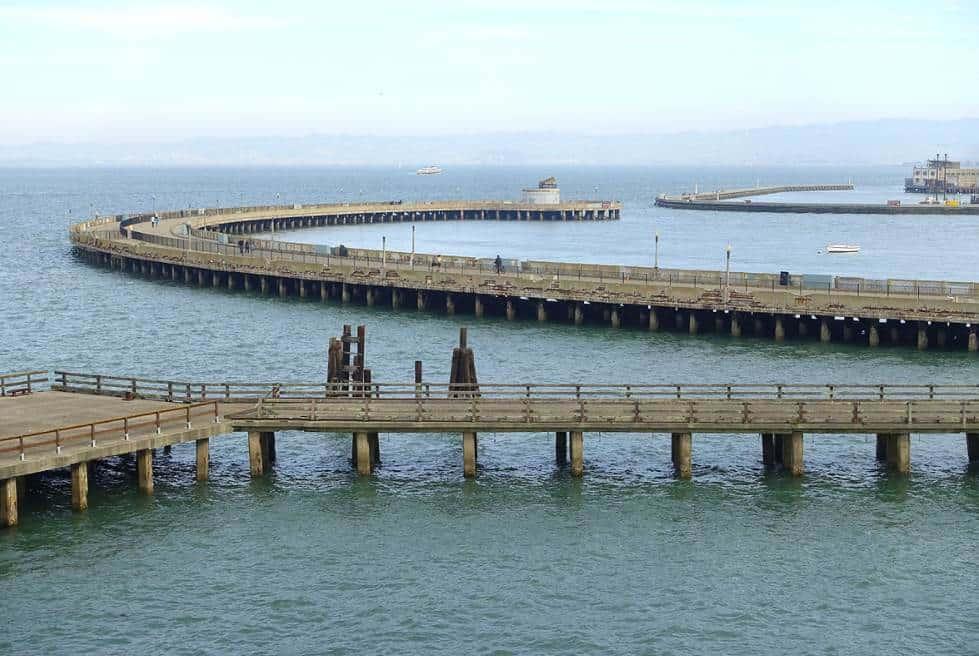 Municipal Pier at the Aquatic Park