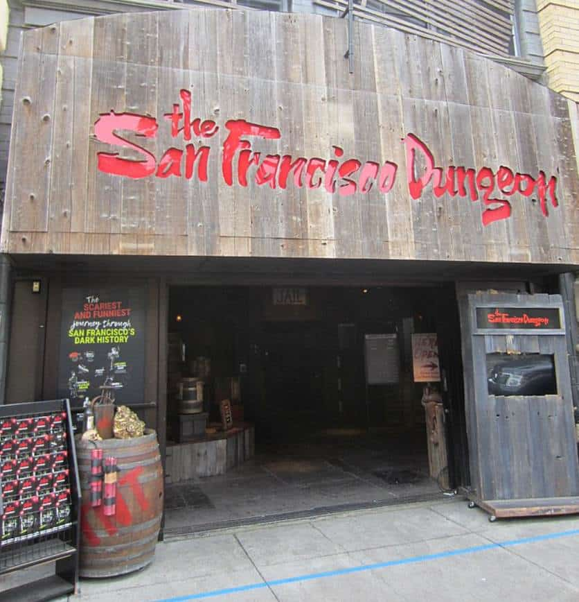 San Francisco Dungeon Entrance