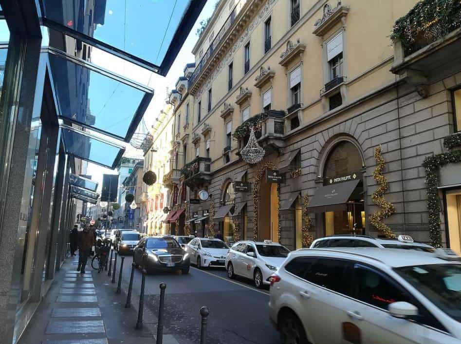 Via Monte Napoleone Milan