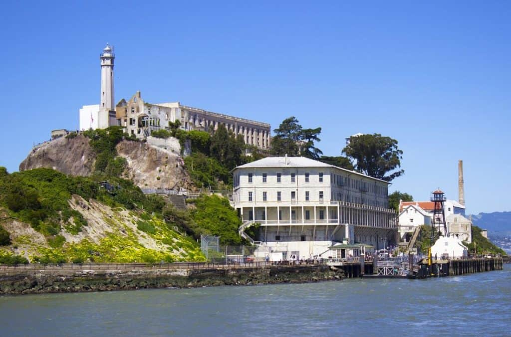 Alcatraz island san francisco landmarks