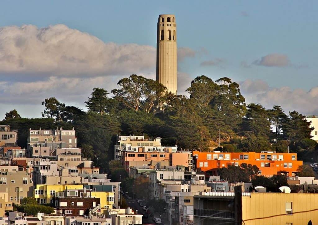 Coit tower landmarks