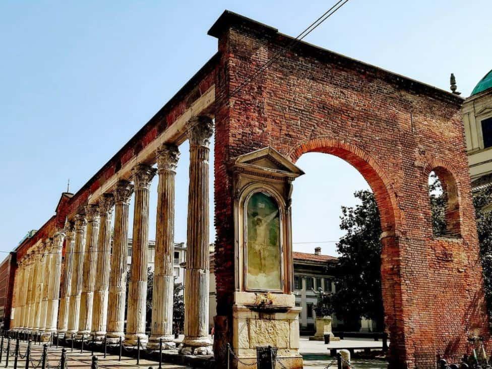 Columns of San Lorenzo Milan