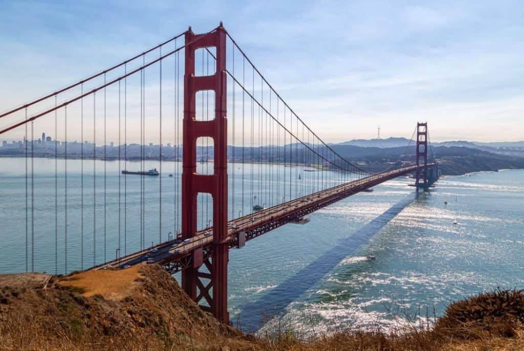 Golden Gate Bridge best things to do in san francisco