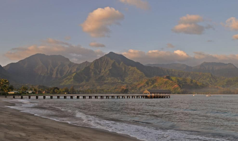 Hanalei bay hawaii