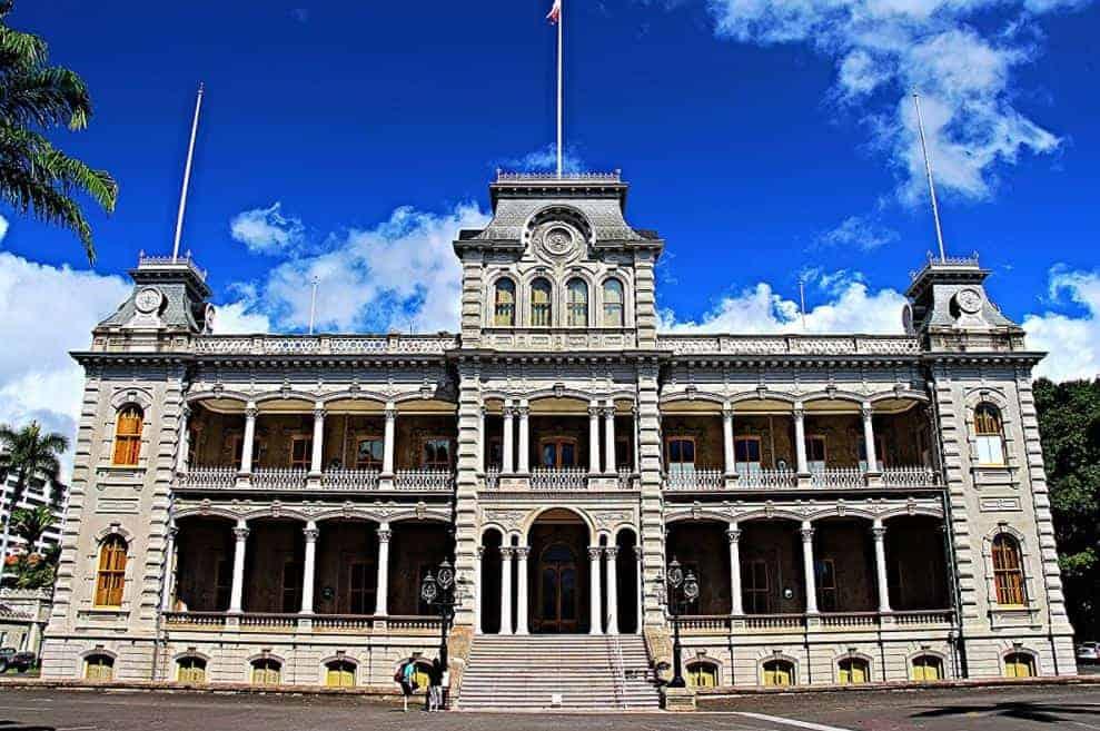 Iolani Palace Hawaii