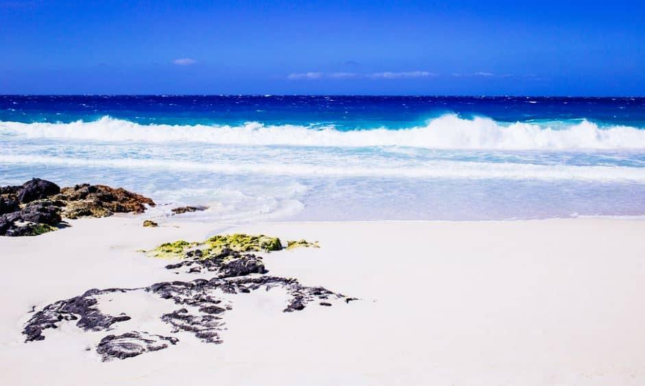 Manini'owali Beach white sand