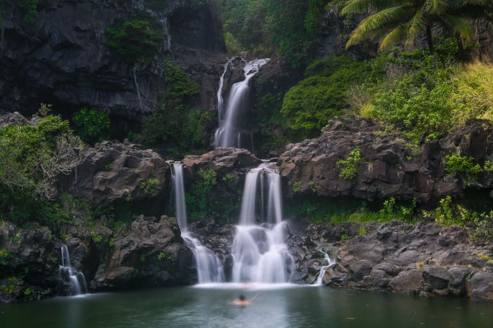 Seven sacred pools of Oheo