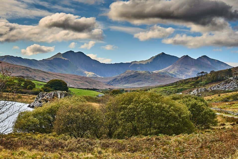 Snowdonia National Park Wales